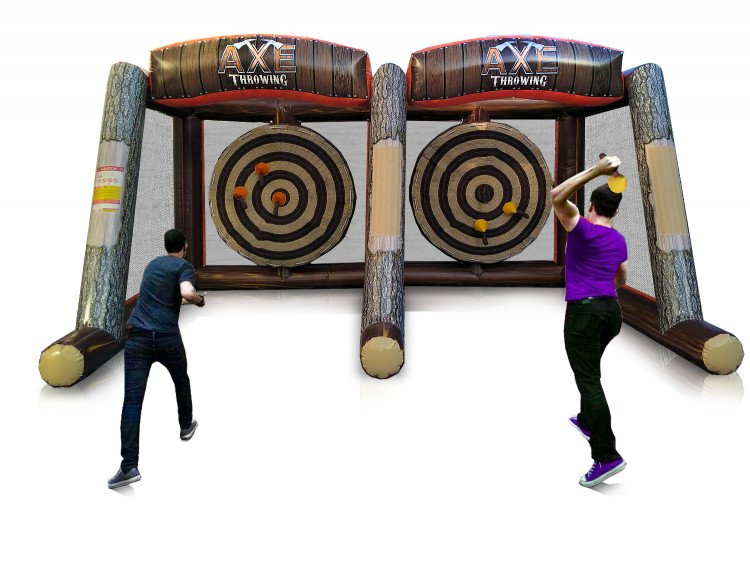 Axe Throwing Inflatable - Double