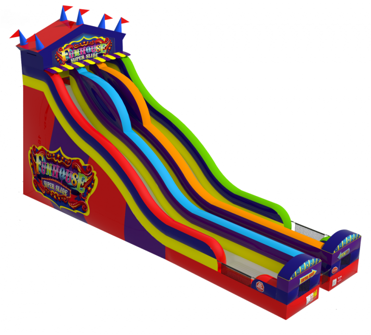 Carnival Fun Fair Super Slide
