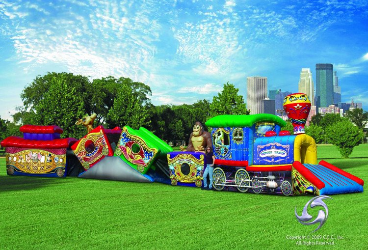 Circus City Train Crawl Through