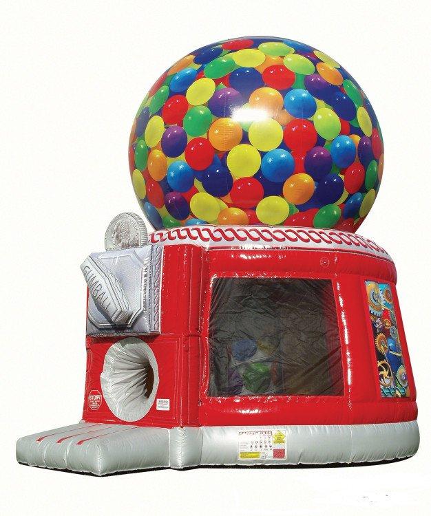 Gumball Machine Bounce
