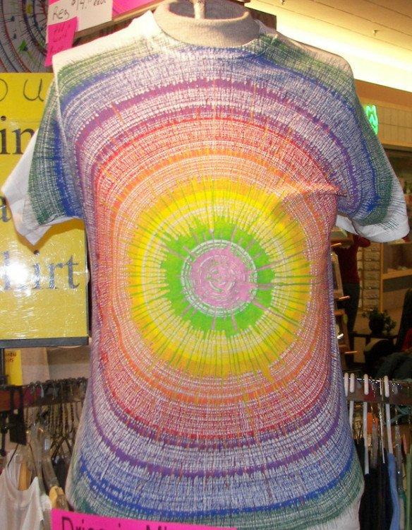 T-Shirt Spin Art