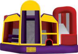 ninja combo small 5 in 1 Combo Bounce Slide (Dry)