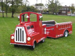 Fire Truck Trackless
