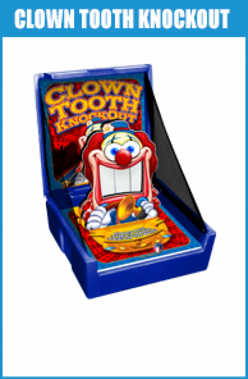 Clown Tooth Knockout (case game)